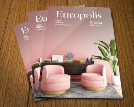 Guia de tiendas Europolis maquetacion y diseño