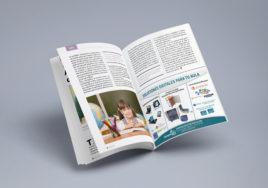 ejemplo diseño publicidad en revistas papel