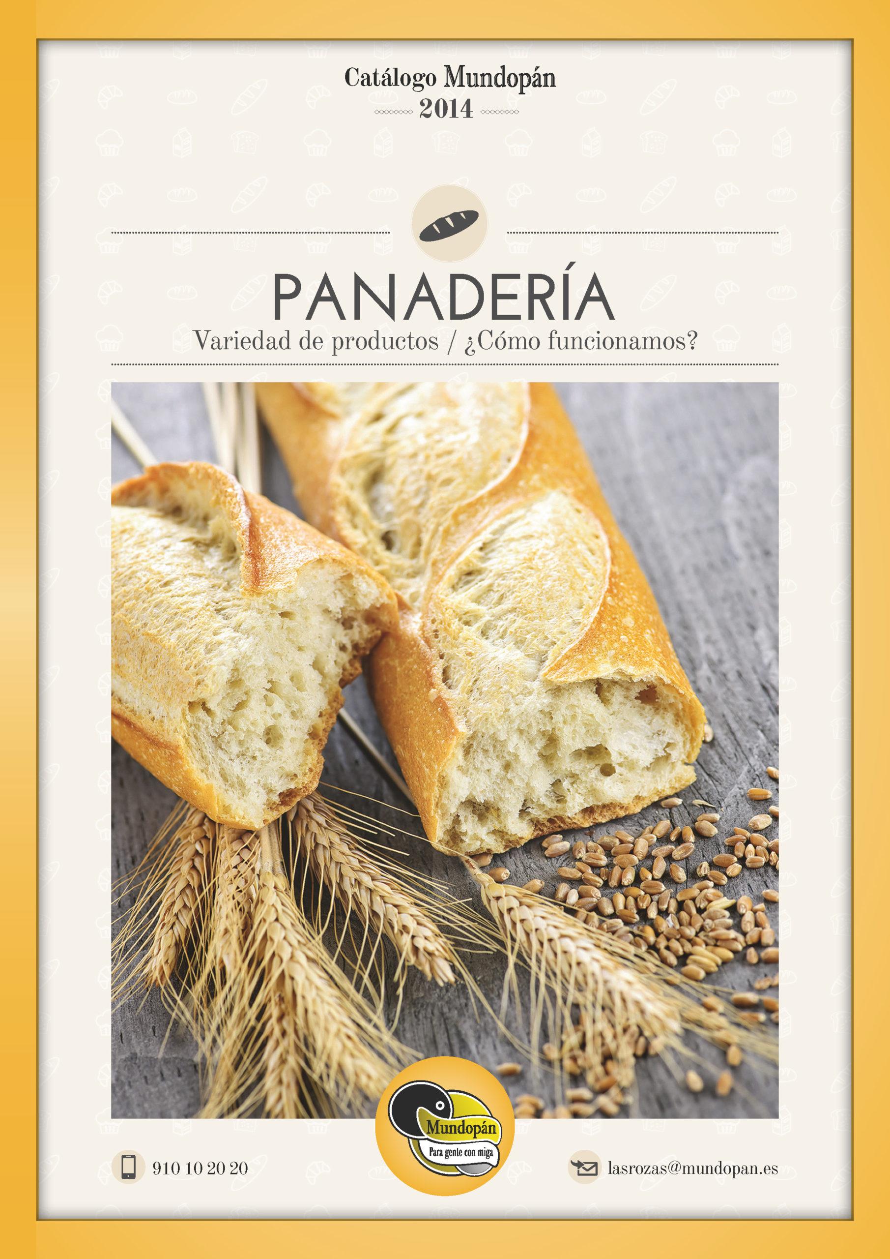catalogo marketing panaderia